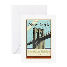 Travel New York Greeting Card