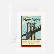 Travel New York Greeting Card