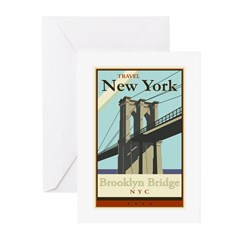 Travel New York Greeting Cards (Pk of 20)