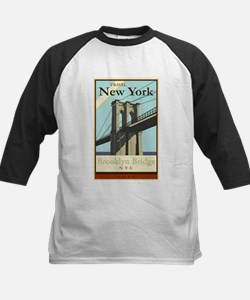 Travel New York Kids Baseball Jersey