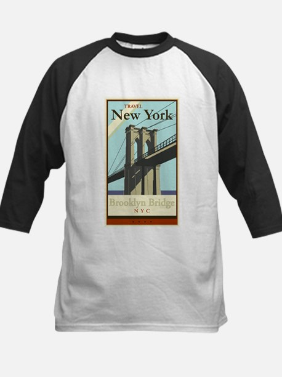 Travel New York Kids Baseball Jersey