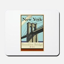 Travel New York Mousepad