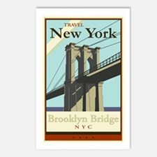 Travel New York Postcards (Package of 8)