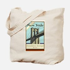Travel New York Tote Bag