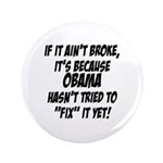 "Anti Obama 3.5"" Button (100 pack)"