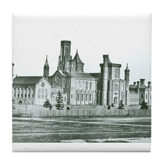 Castle South 1858 Tile Coaster