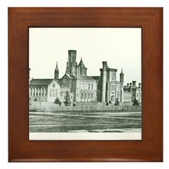 Castle South 1858 Framed Tile