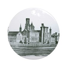 Castle South 1858 Ornament (Round)