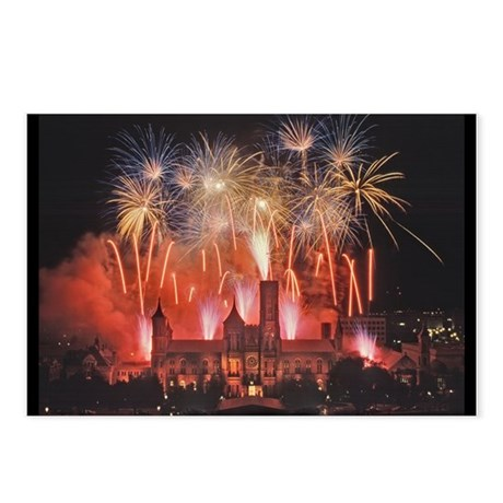 Fireworks Postcards (Package of 8)