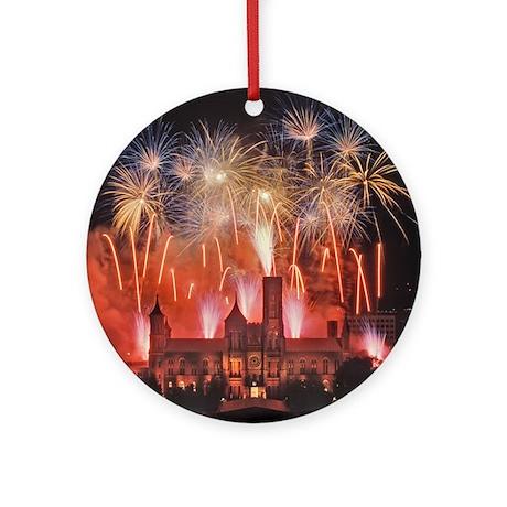 Fireworks Ornament (Round)