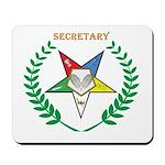 OES Secretary Mousepad