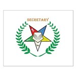 OES Secretary Small Poster