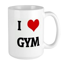 I Love GYM Mug