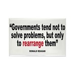 Ronald reagan quote Rectangle Magnet (100 pack)