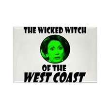 Wicked Pelosi Rectangle Magnet