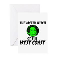 Wicked Pelosi Greeting Card