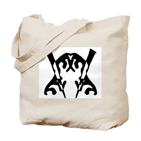 "Ink Blot ""Oven"" Tote Bag"