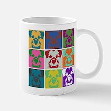 Border Terrier a la Warhol Mu Mug