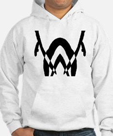 """Ink Blot """"Bend Over and Take Hoodie"""