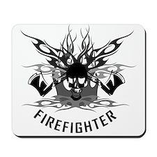 Firefighter Skull/Crossbones Mousepad