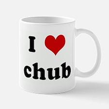 I Love chub Mug