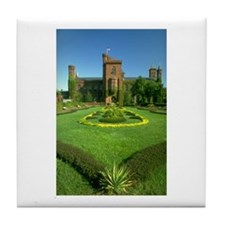 The Castle Lawn Tile Coaster