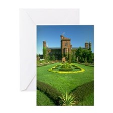 The Castle Lawn Greeting Card