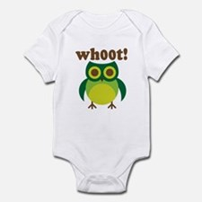 wh00t Goes The Owl Infant Bodysuit