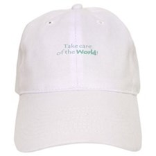 Take care of the world Baseball Cap