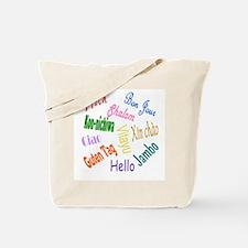 Hello Goodbye Tote Bag