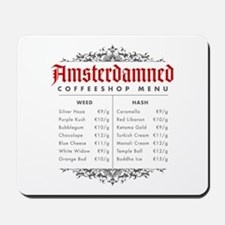 Amsterdamned menu Mousepad