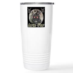 Alpah Wolf Stainless Steel Travel Mug