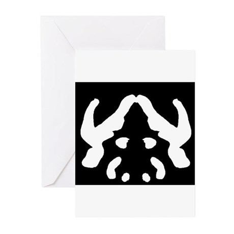 """Ink Blot """"Evil Overlord"""" Greeting Cards (Pk of 10)"""