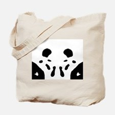 "Ink Blot ""Zerg Mouth"" Tote Bag"
