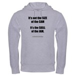 Size of the Cam Hooded Sweatshirt