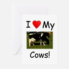 Love My Cows Greeting Cards (Pk of 10)