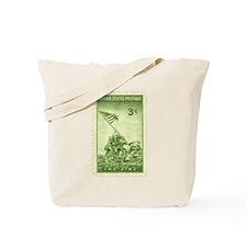 Iwo Jima 3 Cent Stamp Tote Bag