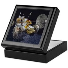 Lunar Roving Vehicle Keepsake Box