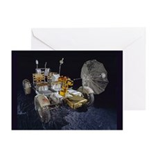 Lunar Roving Vehicle Greeting Cards (Pk of 10)