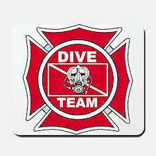 Rescue Dive Team Mousepad