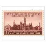 Smithsonian 3 Cent Stamp Small Poster