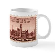 Smithsonian 3 Cent Stamp Mug