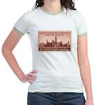 Smithsonian 3 Cent Stamp Jr. Ringer T-Shirt