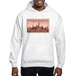 Smithsonian 3 Cent Stamp Hooded Sweatshirt