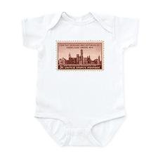 Smithsonian 3 Cent Stamp Infant Bodysuit
