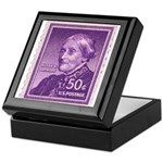 Susan B Anthony 50 Cent Stamp Keepsake Box