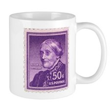 Susan B Anthony 50 Cent Stamp Mug