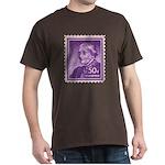 Susan B Anthony 50 Cent Stamp Dark T-Shirt