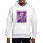 Susan B Anthony 50 Cent Stamp Hooded Sweatshirt