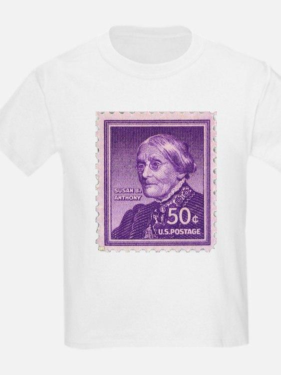 Susan B Anthony 50 Cent Stamp T-Shirt